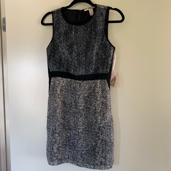 Forever 21 Dresses & Skirts - NWT Forever 21 | Dark Gray Print Sheath Mini Dress
